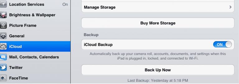 Как сделать резервную копию вашего устройства iOS