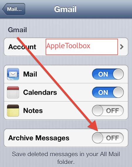 Как легко удалять или архивировать электронные письма на iPhone, iPad и iPod touch