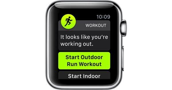 Как использовать обнаружение автоматической тренировки на Apple Watch