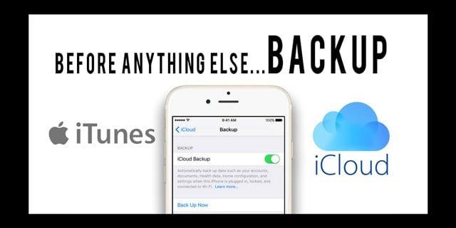Резервные копии: iTunes vs iCloud, как выбрать?