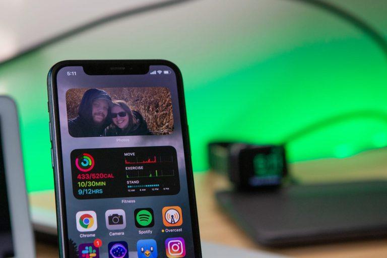 Как настроить виджет фотографий в iOS 14