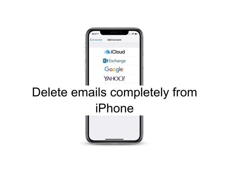Как полностью удалить электронные письма с iPhone и сохранить хранилище