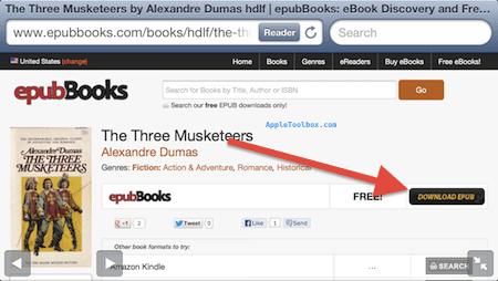 Как скачать электронные книги в формате ePub на свой iPad или iPhone (без iTunes)