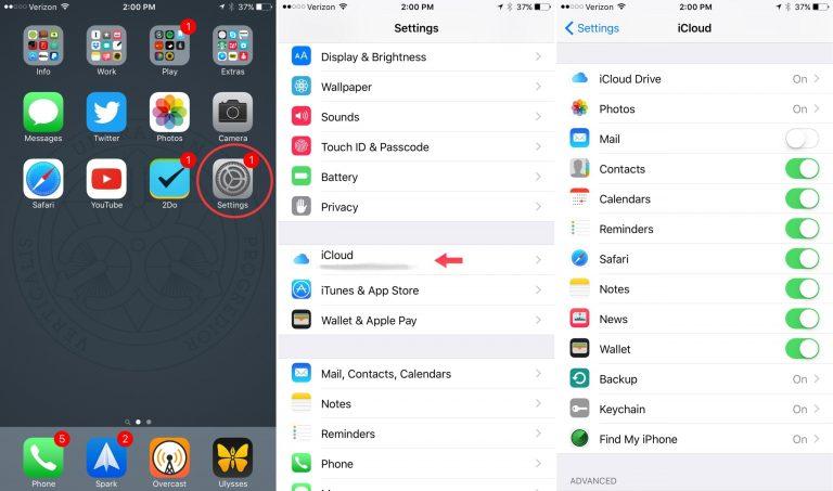 Как настроить почту, контакты, календари и многое другое iCloud на вашем iPhone и iPad
