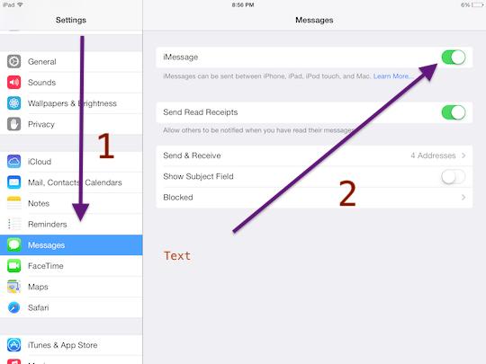 Как ограничить iMessage на iPad, iPod и iPhone