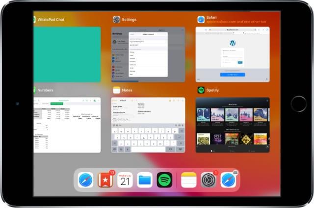 Как открыть два экземпляра одного и того же приложения на iPad с iPadOS