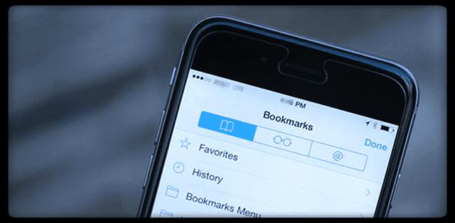 Закладки Safari исчезают на iPad / iPhone