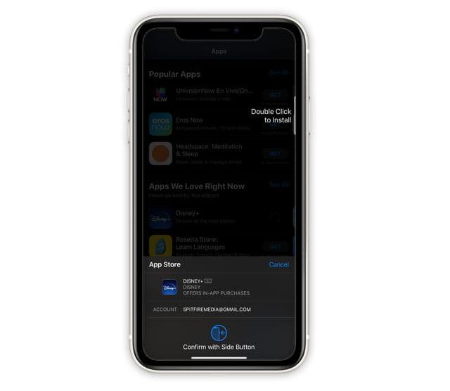 Как отключить двойной щелчок для установки приложений на iPhone или iPad