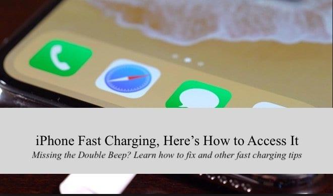 Новые iPhone поддерживают быструю зарядку — вот как получить к ней доступ