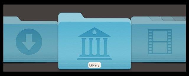 Как показать свою пользовательскую библиотеку в macOS Catalina, Mojave, High Sierra и Sierra