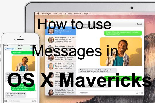 Освоение сообщений в OS X Yosemite