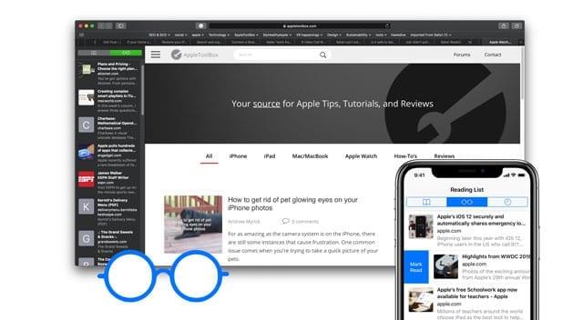 Список чтения Safari исчезает на iPad, iPhone или Mac?  Как исправить