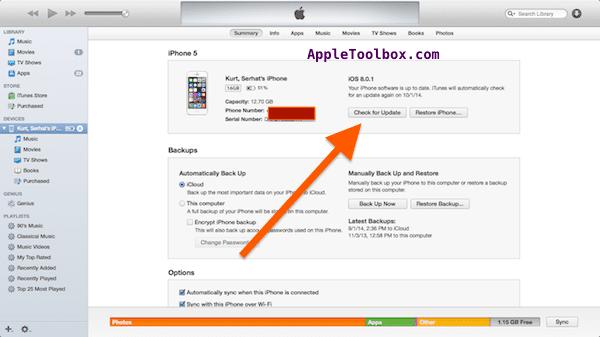 Проблемы с iOS 8.0.1: как понизить версию вашего iPhone / iPad с iOS 8.0.1 до iOS 8.0