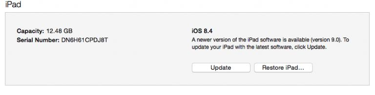 Недостаточно пространства?  Установите iOS 9, ничего не удаляя