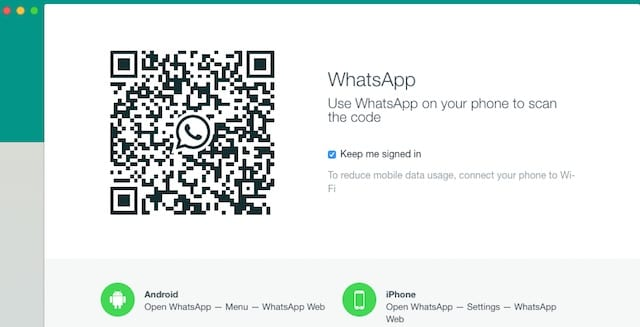 Как начать работу с WhatsApp на MacBook