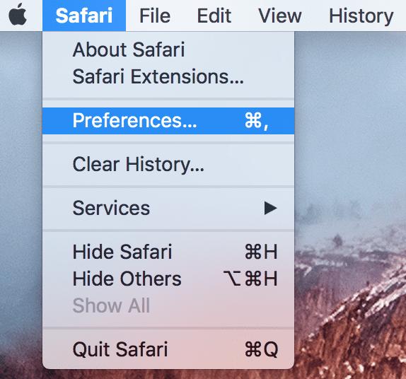 Safari Slow после обновления El Capitan, исправить