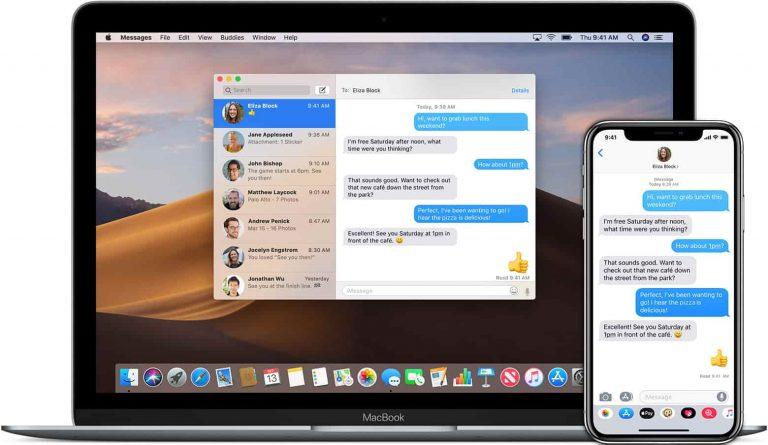 Как отправлять SMS-сообщения на iPad и Mac