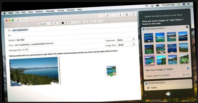 Как использовать текст для Siri в macOS High Sierra