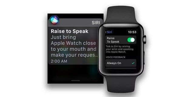 Как использовать Siri Raise для разговора в watchOS 5
