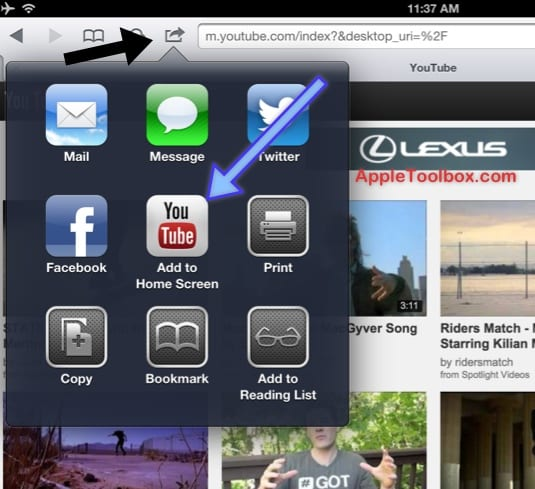 iOS 6: YouTube ушел?  Как использовать YouTube на устройствах iOS 6